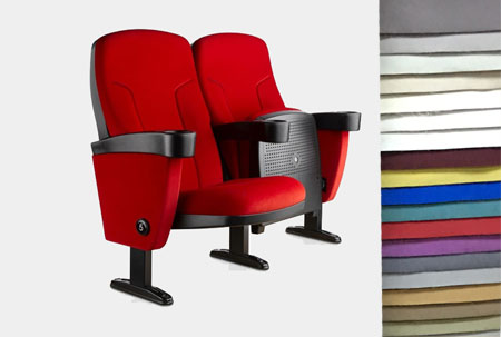 cinema chair fabrics